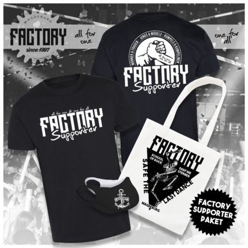 Factory Magdeburg Supporter Paket